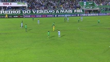 Luan marca um e Éverton três em vitória do Grêmio sobre Chape por 6 a 3, no Brasileiro de 2017