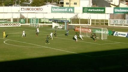 Os gols de Caldense 0 x 2 Espírito Santo, pela Série D do Campeonato Brasileiro 2017