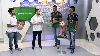 Arena GE #1: estreia tem Jonathan e Napão, campeões do estadual com o Manaus FC
