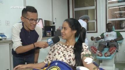 Parte 3: Dieguinho acompanha as pessoas para doação de sangue