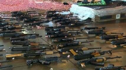 Acusado de enviar fuzis para o Rio nega ser traficante de armas | Rio de  Janeiro | G1