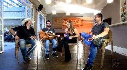 Pedro Leonardo e Aline Lima batem um papo com Fiduma e Jeca