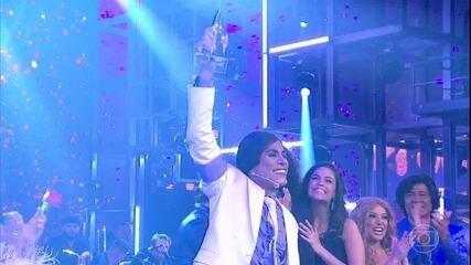 Ícaro Silva é o grande vencedor do 'Show dos Famosos'