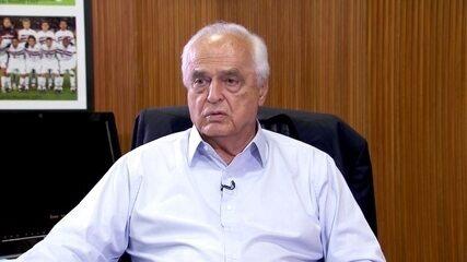 Em entrevista na última quinta, Leco disse que não se cogitava demitir Ceni do São Paulo