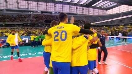 Melhores momentos de Brasil 3 x 1 Canadá pela fase final da Liga Mundial de Vôlei