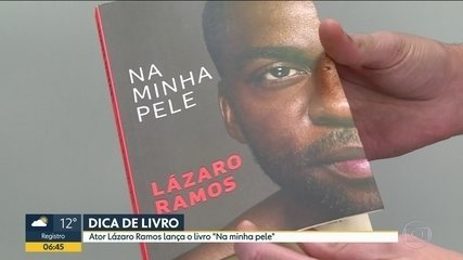 Lázaro Ramos lança livro 'Na minha pele'