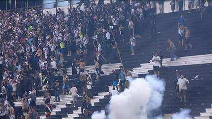 Torcedor morre baleado em confusão depois do jogo entre Vasco e Flamengo