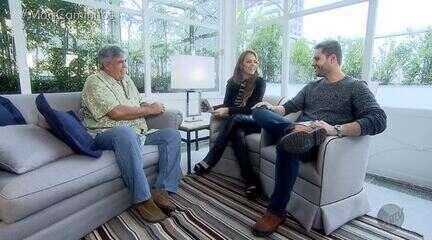 Pedro Leonardo e Aline Lima entrevistam Sidney Magal