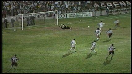 Os gols de Desportiva Ferroviária 3 x 1 Tuna Luso, pela Série B do Brasileirão 1998