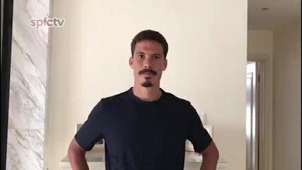 De volta. Hernanes manda recado ao torcedor do São Paulo