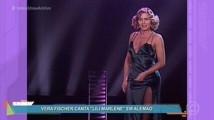 Vera Fischer cantou Lili Marlene em alemão