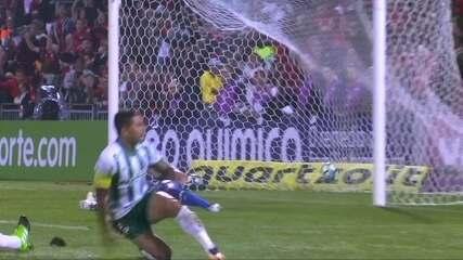 Os gols de Flamengo 2 x 2 Palmeiras pela 15ª rodada do Campeonato Brasileiro