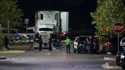 Oito pessoas são encontradas mortas em caminhão estacionado em supermercado nos EUA