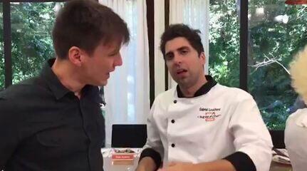 Felipe Suhre conversa com Gabriel Louchard, vencedor do 'Super Chef 2017'