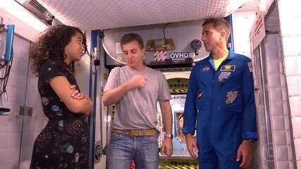 Conheça a segunda missão de Anna Paulla na NASA: por dentro da estação espacial