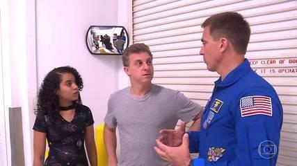 Na sétima missão, fique sabendo como se tornar um astronauta