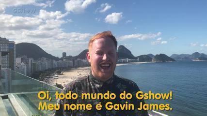 Gavin James fala sobre música na novela Pega pega