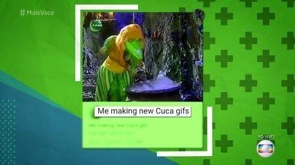 Memes da Cuca fazem sucesso no mundo inteiro. Confira!