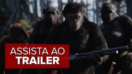 Veja o trailer de 'Planeta dos macacos: A guerra'