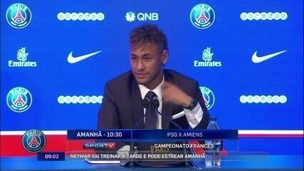 """Neymar diz que tomou a decisão de jogar no PSG há dois dias: """"Foi um momento de pressão"""""""