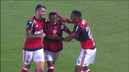 Flamengo vence Palestino e se classifica para as oitavas de final da Sul-Americana