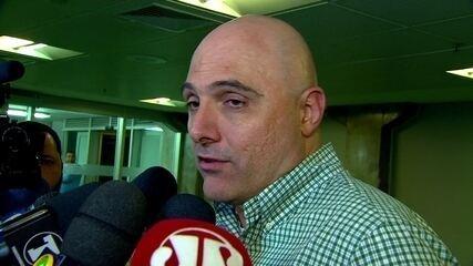 Maurício Galiotte, presidente do Palmeiras, garante Cuca no cargo