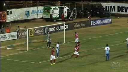 Grêmio Anápolis e Anapolina empatam por 1 a 1 no jogo de ida