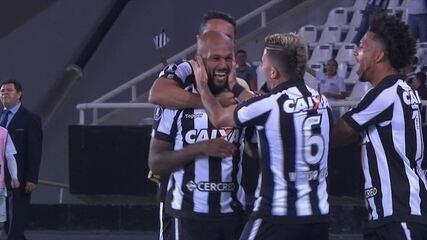Melhores momentos de Botafogo 2 x 0 Nacional-URU pela Taça Libertadores