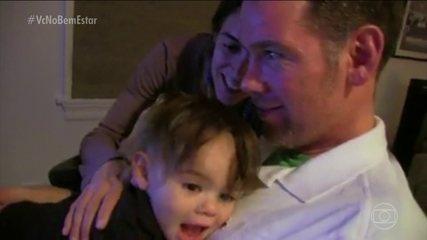 Pacientes com ELA se dedicam para serem os melhores pais para seus filhos