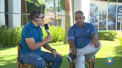 Ademir Fonseca participa ao vivo do Globo Esporte e pede o apoio da torcida do Belo