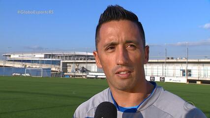 """""""Senhor Arena"""": Barrios chega ao Grêmio como fazedor de gols e tem cumprindo  missão"""