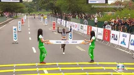 Queniana Esther Kakuri vence a Meia Maratona Internacional do Rio de Janeiro
