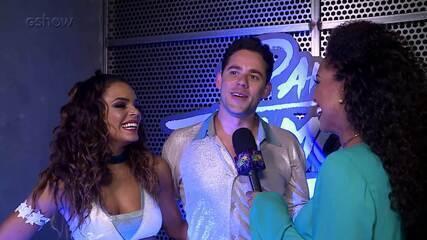 Thiago Pereira comenta estreia na Dança dos Famosos