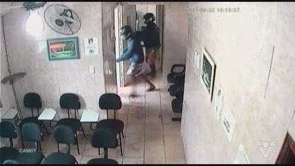 Imagens mostram ataque contra vereador de São Vicente em clínica