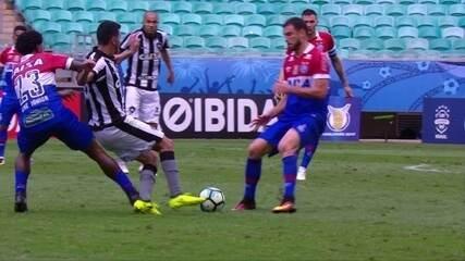 Melhores momentos de Bahia 1 x 2 Botafogo pela 22ª rodada do Brasileirão