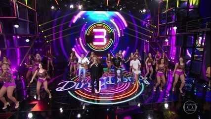 """Banda Mel relembra hit """"Prefixo de Verão"""" e levanta a plateia"""