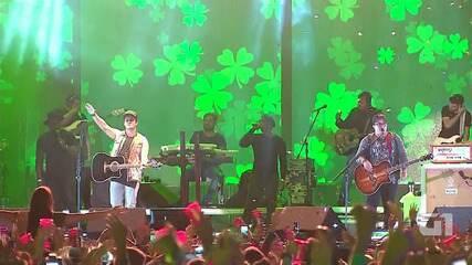 Veja os melhores momentos do show de Matheus e Kauan no Festival de Inverno Bahia 2017