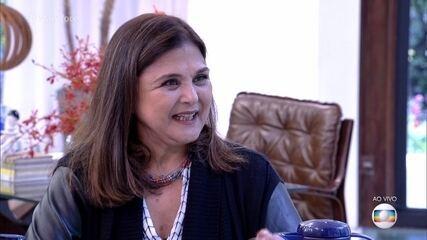 Elizangela tentou explicar o comportamento de Bibi em 'A Força do Querer'