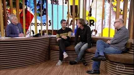 Dado Villa-Lobos e Marcelo Bonfá falam sobre show no Mané Garrincha