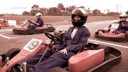 Parte 3: Apresentadores encaram corrida de kart