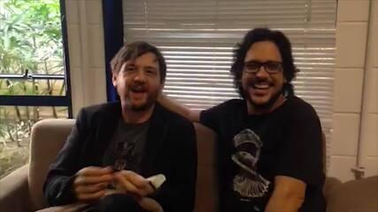 André Frateschi e Lucio Mauro Filho comentam as expectativas para a final do 'PopStar'