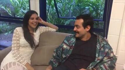 Mariana Rios e Eduardo Sterblitch comentam as expectativas para a final do 'PopStar'