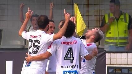 Os gols de Santos 2 x 0 Corinthians pela 23ª rodada do Campeonato Brasileiro