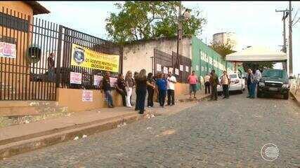 Agentes penitenciários em greve não receberão presos até que reivindicação seja atendida