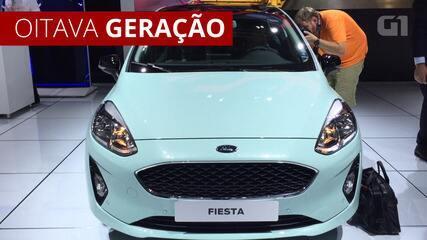 Ford Fiesta faz 40 anos com nova geração na Europa