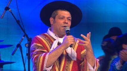 Joca Martins canta 'Nem que o Mundo Venha Abaixo' no 'Galpão Crioulo' (bloco 3)