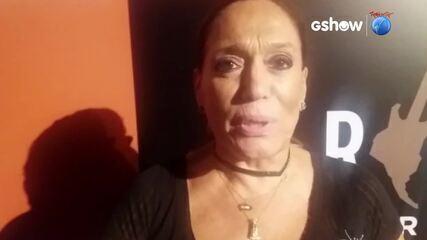 Susana Vieira fala sobre o Rock In Rio