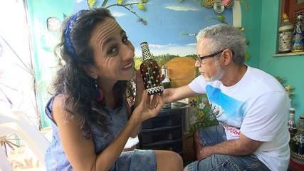 Maria Menezes mapeia o bairro de Pirajá