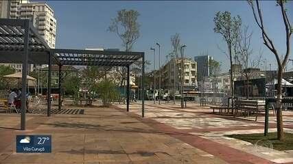 Prefeitura reforma o Largo da Batata com dinheiro da iniciativa privada