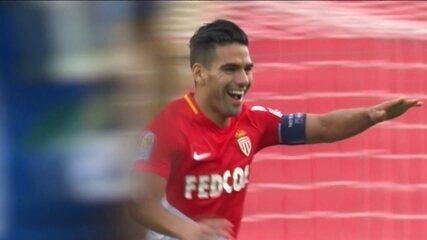 Os gols de Mônaco 3 x 0 Strasbourg pelo Campeonato Francês